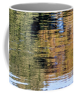 Coffee Mug featuring the photograph Muted Reflections by Kate Brown