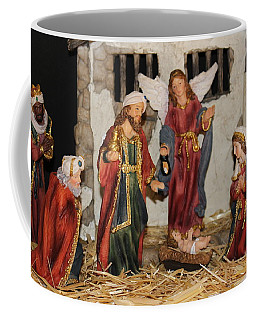 My German Traditions - Christmas Nativity Scene Coffee Mug