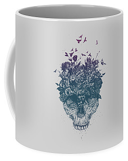 My Head Is Jungle Coffee Mug