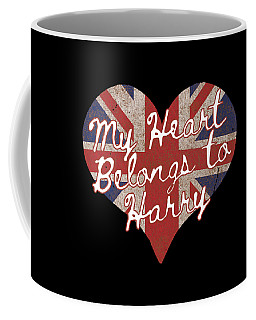 My Heart Belongs To Prince Harry Coffee Mug