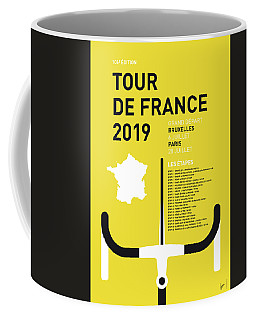 My Tour De France Minimal Poster 2019 Coffee Mug