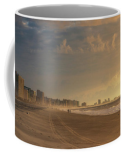 Coffee Mug featuring the photograph Myrtle Sunrise by Brad Wenskoski