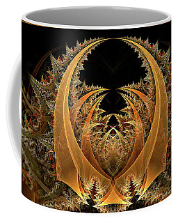 Coffee Mug featuring the digital art Nahum by Missy Gainer
