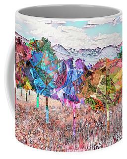 Coffee Mug featuring the digital art Nature's Kaleidoscope by Mike Braun