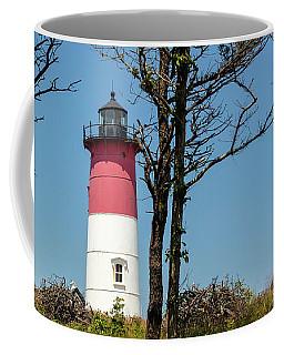 Nauset Lighthouse On The 4th Of July Coffee Mug
