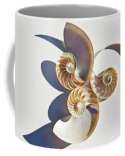 Coffee Mug featuring the photograph Nautilus 0425 by Mark Shoolery