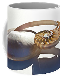 Coffee Mug featuring the photograph Nautilus 0469 by Mark Shoolery