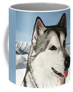 Nayuk Alaska Malamute Coffee Mug