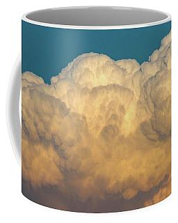Coffee Mug featuring the photograph Nebraska Sunset Thunderheads 053 by NebraskaSC