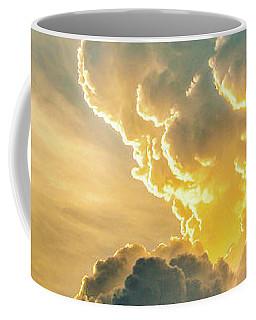 Nebraska Sunset Thunderheads 075 Coffee Mug