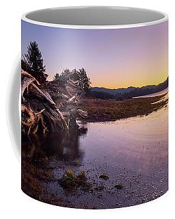 Coffee Mug featuring the photograph Nehalem Bay Sunrise by Whitney Goodey