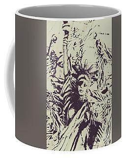 Neoclassical Lady Landmark Coffee Mug