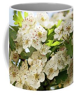 Neston.  Hawthorn Blossom. Coffee Mug