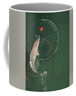 Netting A Big Redfish Coffee Mug