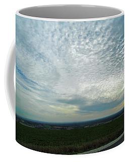 Never Coming Down Coffee Mug