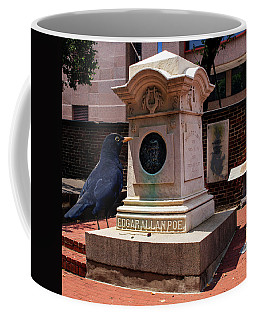 Coffee Mug featuring the photograph Nevermore Quoth The Raven by Bill Swartwout Fine Art Photography