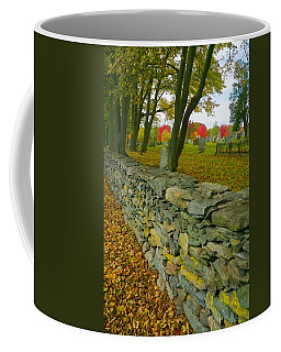 New England Stone Wall 2 Coffee Mug