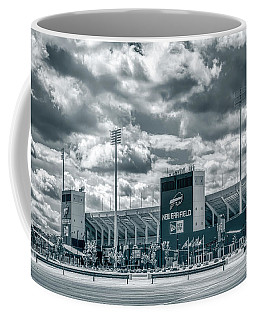 Coffee Mug featuring the photograph New Era Stadium by Guy Whiteley