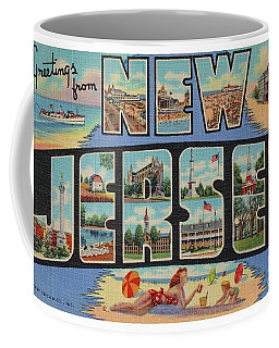 New Jersey Greetings - Version 1 Coffee Mug