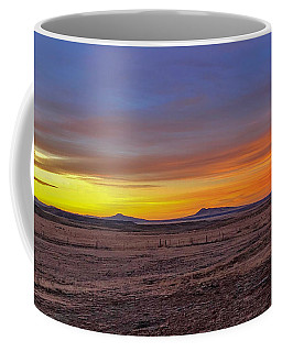 Coffee Mug featuring the photograph New Mexico Sunrise by Rand