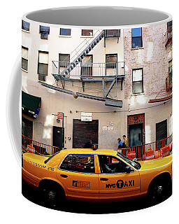 New York, Cab Coffee Mug