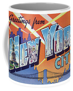 New York City Greetings - Version 2 Coffee Mug