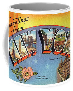 New York Greetings - Version 4 Coffee Mug