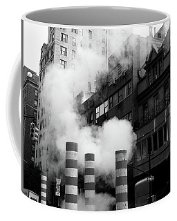 New York, Steam Coffee Mug
