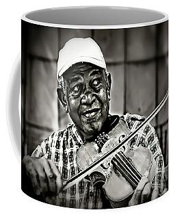 New York Street Fiddler Coffee Mug