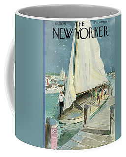 New Yorker Cover - July 22, 1950 Coffee Mug