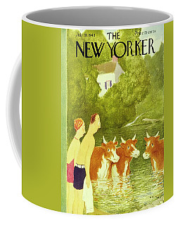 New Yorker July 10th 1943 Coffee Mug