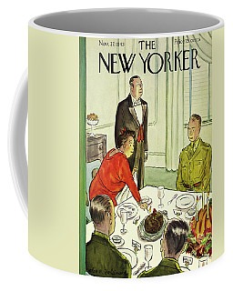 New Yorker November 27th 1943 Coffee Mug