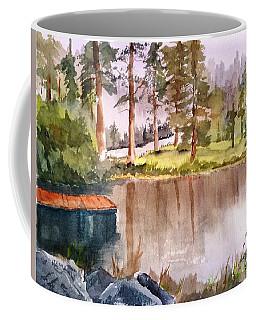 Nez Perce Lake Coffee Mug