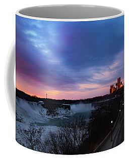 Niagara Falls At Sunrise Coffee Mug