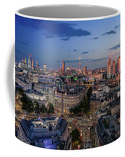 Coffee Mug featuring the photograph Night And Day by Stewart Marsden