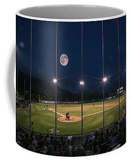 Coffee Mug featuring the photograph Night Game by Mike Long