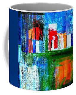 Night In The City N Y C Coffee Mug