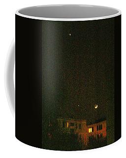 Coffee Mug featuring the photograph Night Lights by Attila Meszlenyi