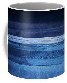 Night Tide - Abstract Watercolor Sea - Ocean Painting Coffee Mug