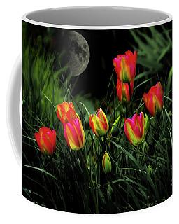 Night Tulips Coffee Mug
