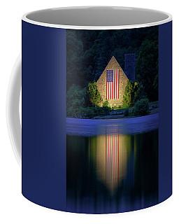 Nightfall At The Old Stone Church Coffee Mug