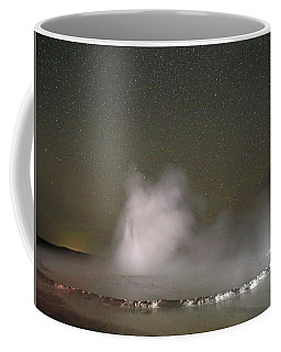 Nighttime At Great Fountain Geyser Coffee Mug