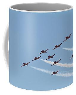 Nine Man Snowbird Formation Coffee Mug