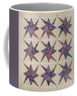 Nine Stars Dipping Their Toes In The Sea Sending Ripples To The Shore Coffee Mug