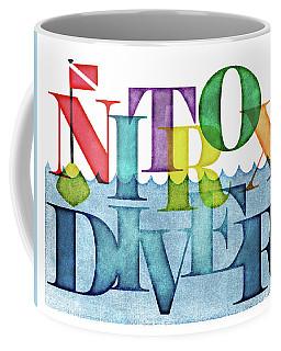 Nitrox Diver Colorful Scuba Coffee Mug
