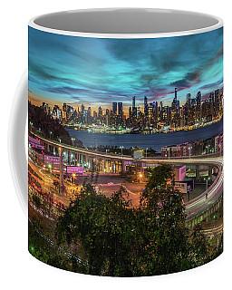 Nj And Ny Sunrise Coffee Mug