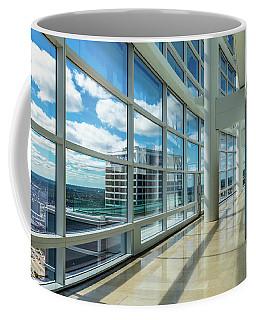 Coffee Mug featuring the photograph Nm Tower View by Randy Scherkenbach