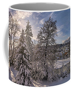 Coffee Mug featuring the photograph No Time Like Snowtime by Edmund Nagele