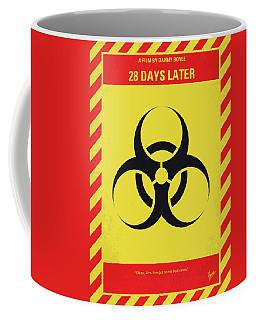No1029 My 28 Days Later Minimal Movie Poster Coffee Mug