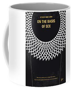 No1040 My On The Basis Of Sex Minimal Movie Poster Coffee Mug